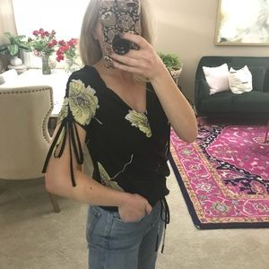 1. State floral top